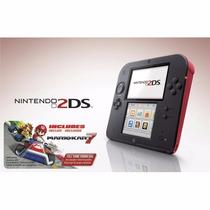 Game Nintendo 2ds Wi-fi Console Portátil + Jogo Hot Wheels