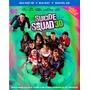 Escuadrón Suicida Combo Blu-ray 3d + Blu-ray Original