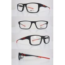 Armação De Óculos Grau Voltage Leve Chamfer Crosslink Cores