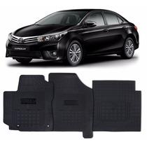 Tapete Interno Toyota Corolla 2016 2017 Reforçado Com Trava
