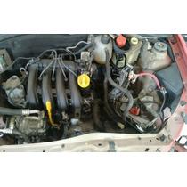 Motor Parcial Renault 1.0 16v Clio Logan Sandero Com Nf!!!