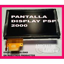Pantalla Psp Display Lcd 2000 (nuevo, Original) 100% Calidad