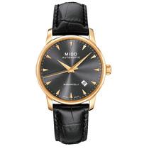 Relógio Mido Baroncelli Automático Dourado M8600.3.13.4
