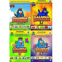 Galinha Pintadinha - Coleção 4 Dvds Infantil