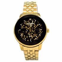 Relógio Mondaine Luxo Pedras Swarovski No Mostrador