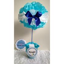 Topiarios Centro De Mesa Baby Shower Cumpleaños Bautizo
