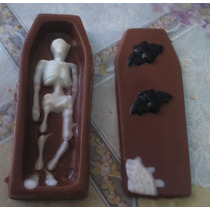 Figura De Chocolate Para Dia De Muertos Halloween