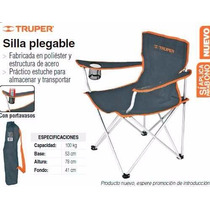 Silla Plegable Truper Original Oferta Nuevas