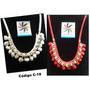 Collar/ Collares De Moda / Cadena- Córdon / Tipo Maxicollar