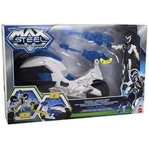 Max Steel Moto Vuelo Vehículo Con Figura De Max Steel