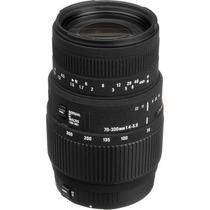 Lente Sigma 70-300mm F/4-5.6 Dg P/ Canon + Recibo Fiscal