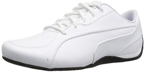 Zapatillas para caminar Drift Cat 5 Core para hombre, Puma White-Puma Black, 5 M US