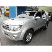 Toyota Hilux Sw4 3.0 D4d 4x4 2009/2009 Prata 7 Lugares