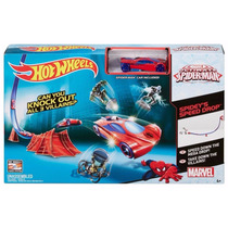 Pista Básica Hot Wheels Spider Man Mattel Original