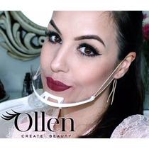 Ollen Máscara Higiênica 10 Unid Maquiagem Estética Protetor
