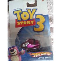 Toy Story Set 4 Carritos Hot Wheels Escala 1/64