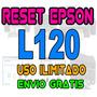 + Reset Ilimitado Epson L120 Repara Error De Almohadillas +