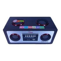 Radio Reproductor Portátil Recargable Fm Usb Pendrive Oferta