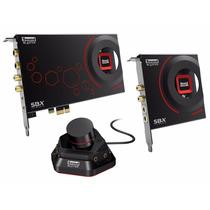 Placa Creative Sound Blaster Zxr Pcie Asio Sbx 124 Db Jfc