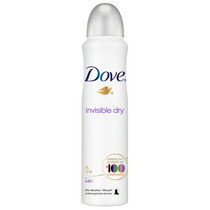 Desodorante Antitranspirante Dove Invisible Dry 100g