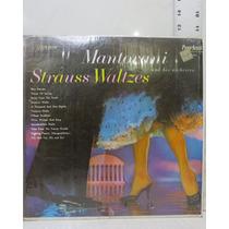 Mantovani Y Su Orquesta, Valses De Strauss Lp Acetato Vinyl