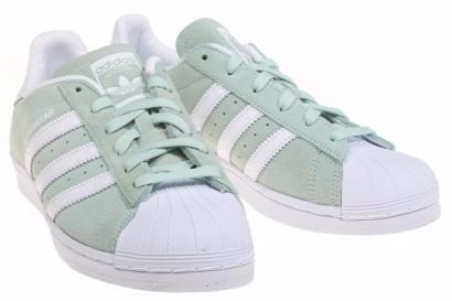 cfe77bac12f Zapatilla adidas Superstar Green - Gamuza - 100% Original ...