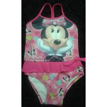 Maiô Biquini Minnie Mouse Disney Infantil Bebê Criança Luxo