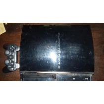 Playstation 3 Com Defeito - Ylod - Acompanha Controle E Hd