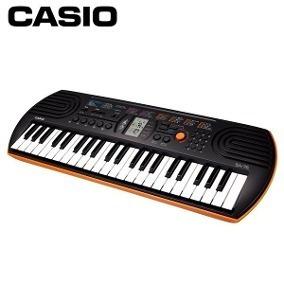 1b43f151759 Mini Teclado Casio Sa76 - Somos Loja - R  384