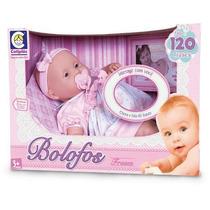 Boneca Bolofos Bebê 120 Frases Cotiplás + Nota Fiscal - Off!
