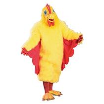 Traje Chicken Costume Deluxe Adult Rubie, Amarillo, Un Tama