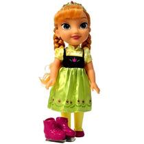 Boneca Do Filme Frozen Anna Patinação No Gelo Grande 35cm