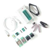 Gravador Minipro Tl866cs Bios Eprom + Adaptadores Clip Soic8