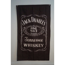 Bandera Jack Daniels Whiskey 90por1.50mt Agencia Club Bar