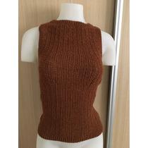 Blusa Remera En Tejido Al Crochet Muy Delicada