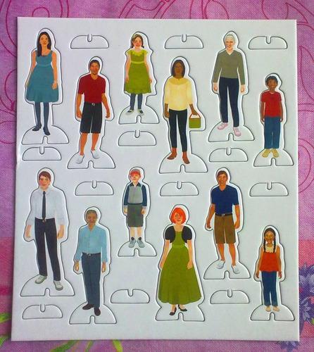 Lamina Con Figuras Personas Normales Para Maqueta 150