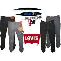 Pantalon Jeans Levis 501 Para Caballero (de Cierre)