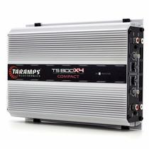 Modulo Taramps Ts800x4 Amplificador Digital 800w Rms 2 Ohms