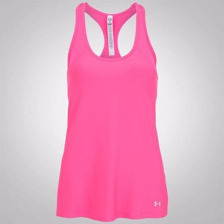 e3bc619ef Camiseta Regata Under Armour Hg Alpha - Rosa - Feminina - R$ 69,99 ...
