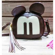 Bolsa Mickey Feminina Minnie Soho Disney Promoção Laçamento