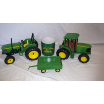 Lote Tractores Ertl John Deere Esc. 1/16 Metal Diecast #5732