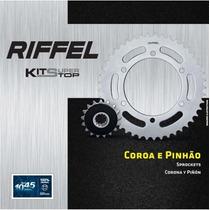 Relação Riffel Pinhão + Coroa Yamaha Xt660 R Xt Tenere 660