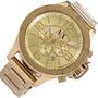 Relogio E5208 Armani Exchange Ax1504 Dourado Caixa Manual