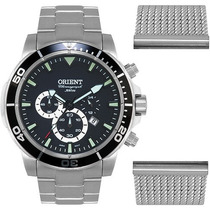 Relógio Orient Scuba Diver Mbssc109 - 1 Ano De Garantia!