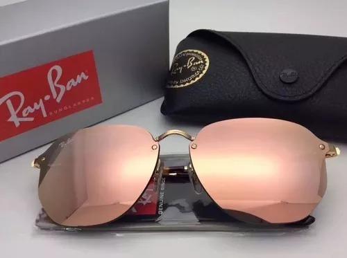 599fa1f619106 Oculos De Sol Ray Ban Hexagonal Blaze Rb3579 Masculino Femin - R  169