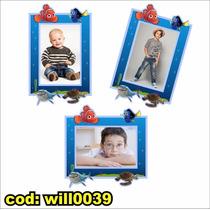 Adesivo Infantil Para Montagem Com Foto Tema Nemo Will0039