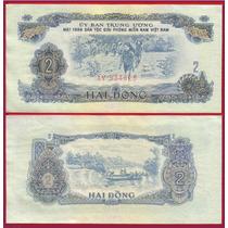 Vietnam Billete De 2 Dong Año 1963 Sin Circular