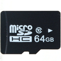 Memoria Microsd Xc 64gb Garantia En Blister Resistente Agua