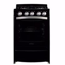 Cocina Patrick Cps1556 Negra Autolimpiante Multigas