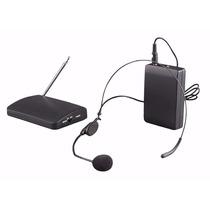 Kit De Microfone Sem Fio Headset De Cabeça + Micr Lapel Co11